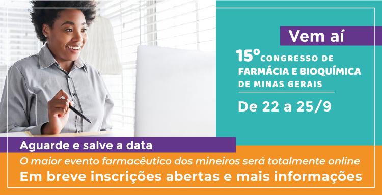 15º Congresso de Farmácia e Bioquímica de Minas Gerais